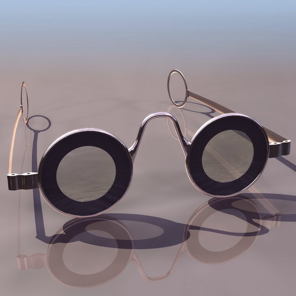 Gafas de estilo vintage de moda