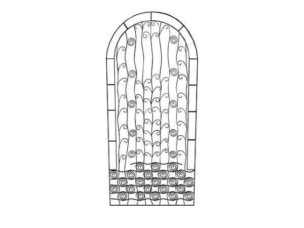 Home Design Ornamental Gate