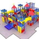 Children Outdoor Castle Playset