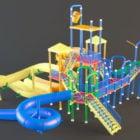 Outdoor Playground Slide Toys