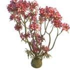 ピンクの花の植物の木