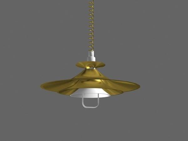 Pull Down Ceiling Light Free Model