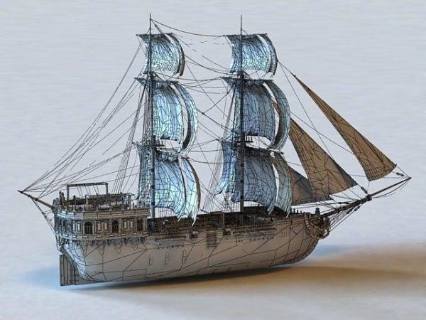 Watercraft Sailing Warship