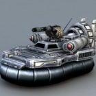 Gaming Sci Fi Hovercraft