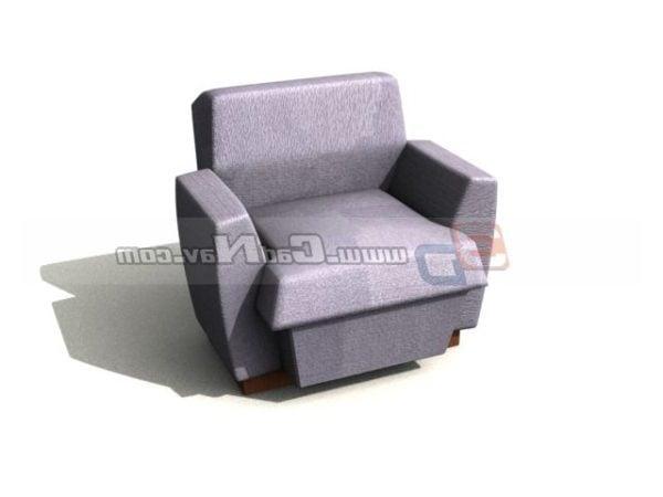 Furniture Single Sofa Cum Bed