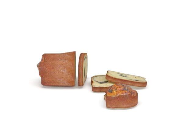 Alimentos de pan rebanado