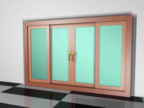 Divisores de habitaciones estilo puerta corredera
