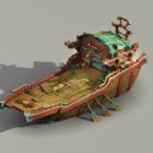 Středověká obchodní loď