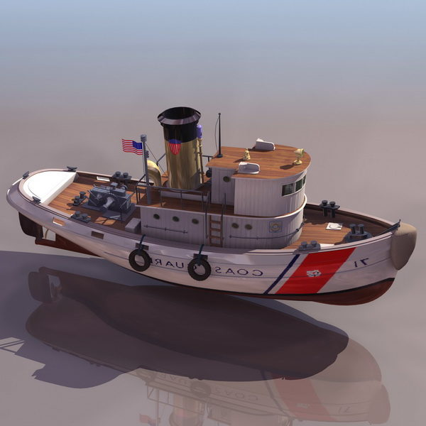 Watercraft Usa Coast Guard Tugboat