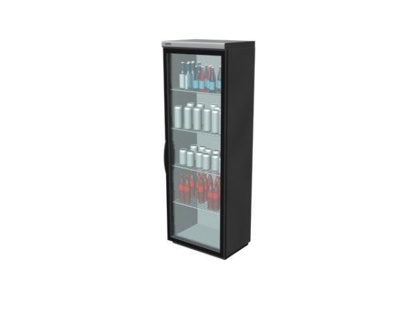 Supermarket Upright Freezer Showcase