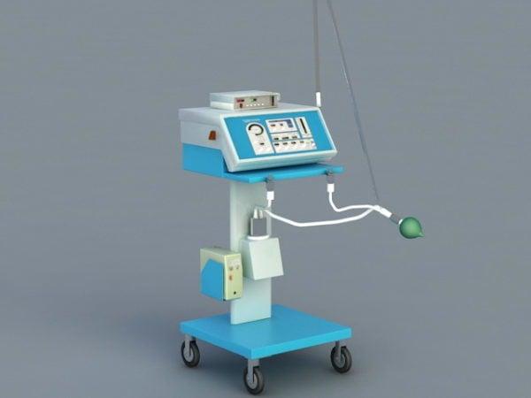 Equipo médico de ventilación hospitalaria