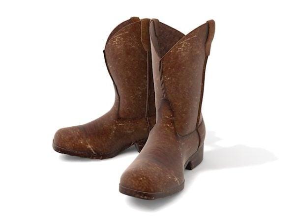 Vintage nahka cowboy-saappaat