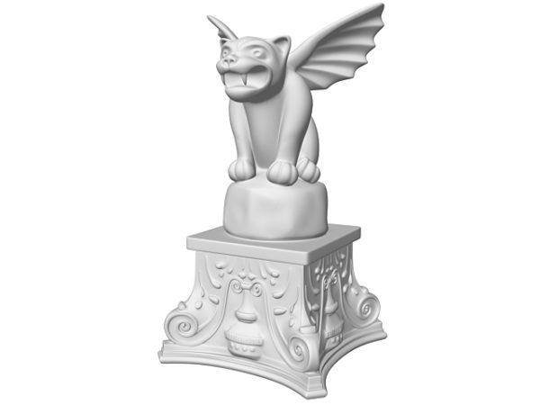 تمثال أسد الجناح الحجري