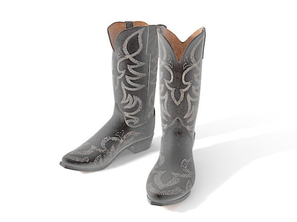 Naisten muoti cowboy-saappaat