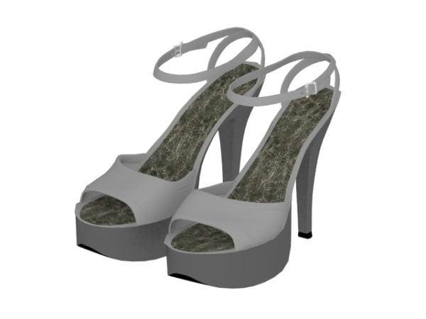Naisten muotialustan sandaalit