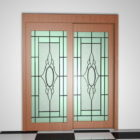 Wood French Style Patio Doors
