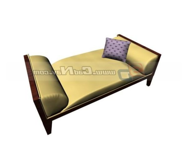 Antique Wood Day Bed Free Model