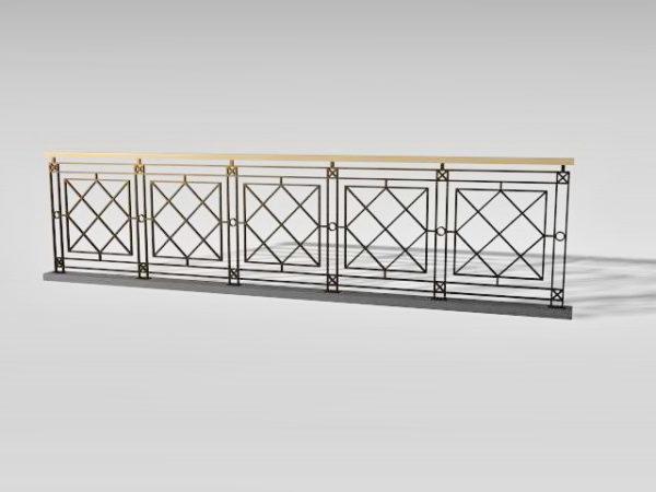 بناء درج الحديد المطاوع الديكور