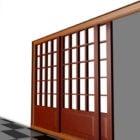 Hjemmeskyder indvendige dørpartitioner