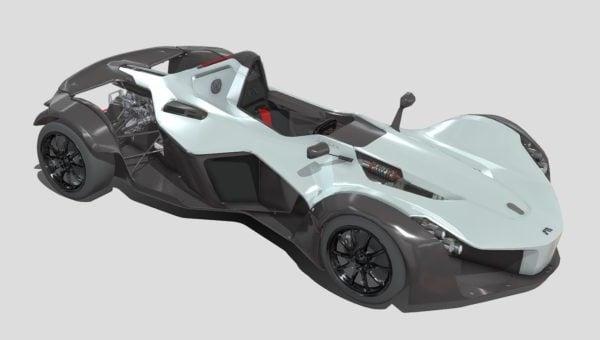 باك مونو سباقات السيارات التصميم