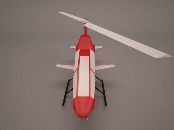 Concepto de helicóptero