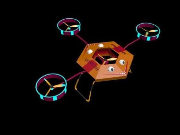 خيال علمي بدون طيار