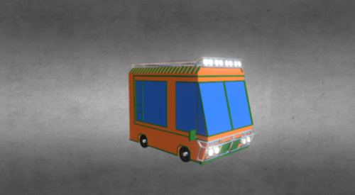 Gaming Lowpoly Autos