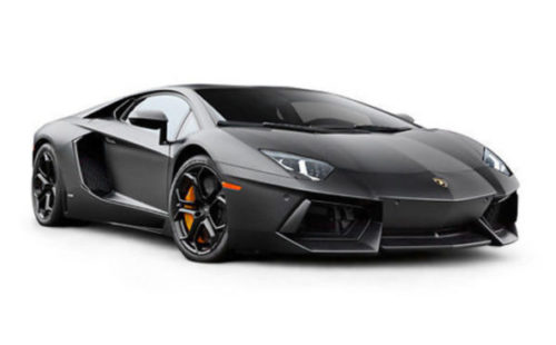 Coche Lamborghini Gris