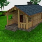 Conception de maison de chalet en bois