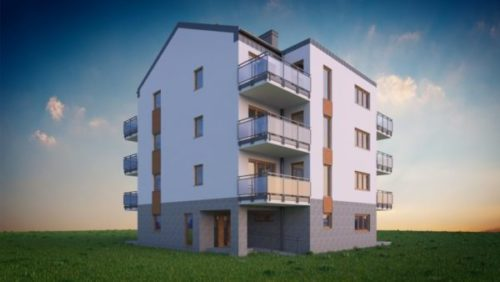 Edificio de viviendas moderno