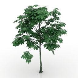 Lowpoly Chestnut Tree