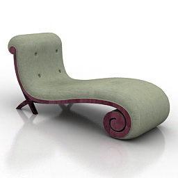 Relaxe Design de sofá curvo