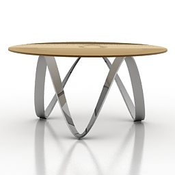 Mesa de madeira redonda home