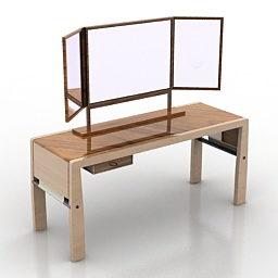 Design de mesa de vestir em casa