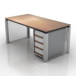 Mesa de trabalho de escritório simples