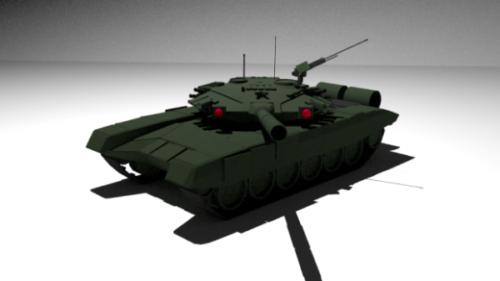 T-90 Venäjän säiliö