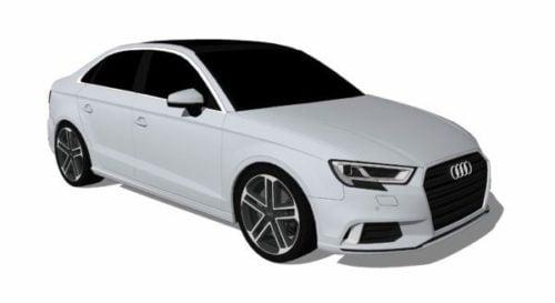 Audi A3 Sedan Car 2017