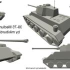 Mittlerer Tank Wot Design