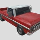 70s Pickup Truck Car