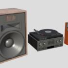 80s Hifi Stereo Speaker
