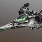 الجناح الجوي الخيال العلمي تصميم سفينة الفضاء