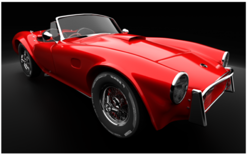 Red Ac Cobra 269 Car