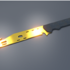 Acb Golden Knife Weapon