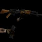 Animace zbraní Ak-47