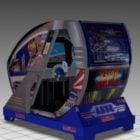 After Burner Sitdown Arcade Game Machine
