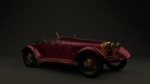 Auto Alfa Romeo 6c