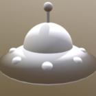 Alien Cartoon Ufo