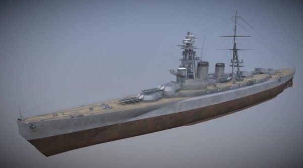 Barco Crucero Amagi Navy