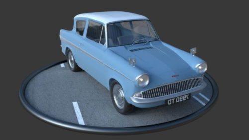 Anglia 105e Vintage Car