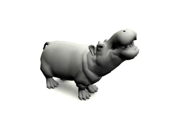 Animal Hippo takilalla